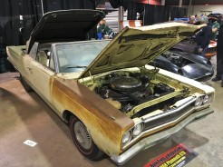 Crusty 1968 Plymouth GTX convertible barn find hid a 426 Hemi engine.