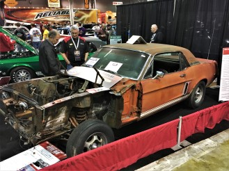 "Shelby prototype ""Little Red"" was found during the research for its sister car ""The Green Hornet,"" and will be fully restored for next year's MCACN."