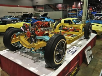 Cutaway Corvette chassis was displayed at the 1965 New York World's Fair and was passed between numerous high schools and universities before being discovered and restored.