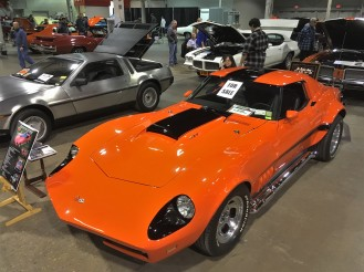 Not your everyday cars for sale in the car corral; offered here is an ultra-rare 427-powered 1969 Motion Phase III GT Corvette.