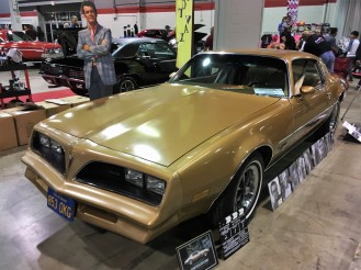 "The car that launched a thousand ""J-turns,"" this Rockford Files lookalike 1977 Firebird Esprit was used in a documentary about the TV crime series starring James Garner."